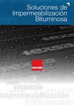 Soluciones Impermeabilización Bituminosa