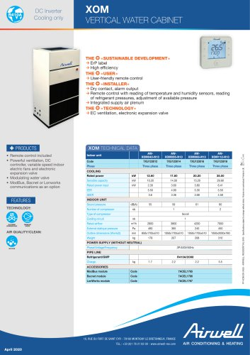 XOM VERTICAL WATER CABINET