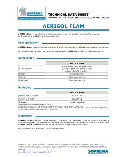 AERISOL FLAM