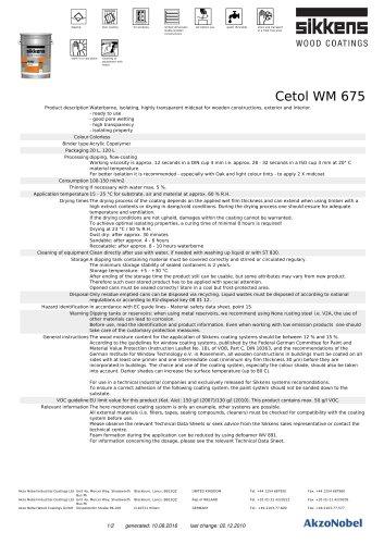 Cetol WM 675