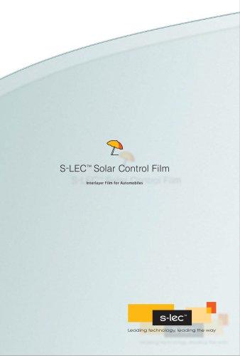 S-LEC™ Solar Control Film