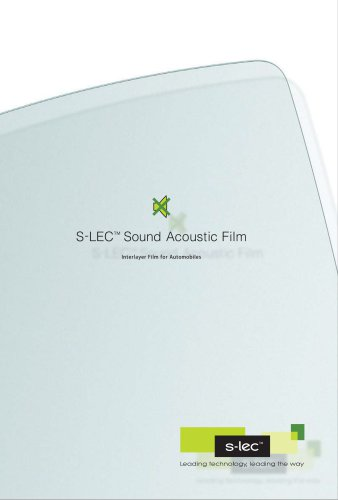 S-LEC™ Sound Acoustic Film