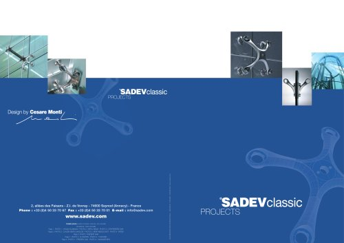 SADEV classic projects