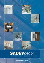 SADEVdecor - CATALOGUE TECHNIQUE / TECHNICAL CATALOG