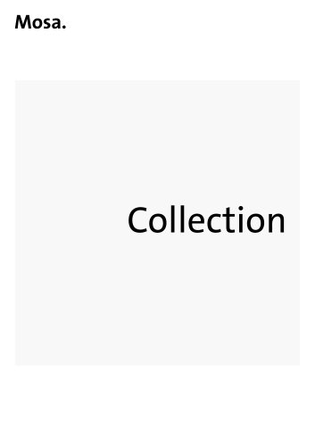 Mosa Collection Book
