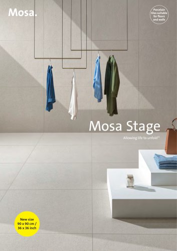 Mosa Stage Brochure