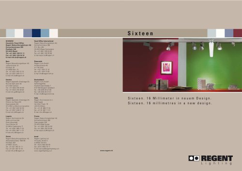 Brochure Sixteen