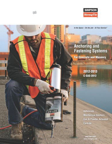 Anchoring and Fastening Systems for Concrete and Masonry