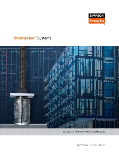 Strong-Rod Systems Seismic and Wind Restraint Systems Guide