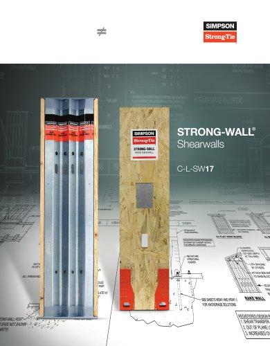 Strong-Wall® Shearwalls