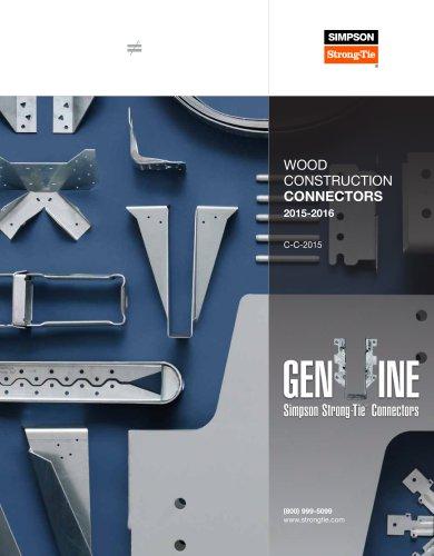 Wood Construction Connectors 2015-2016