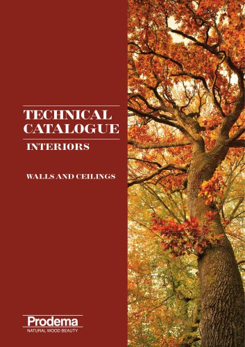 TECHNICAL CATALOGUE WALLS AND CEILINGS interiors