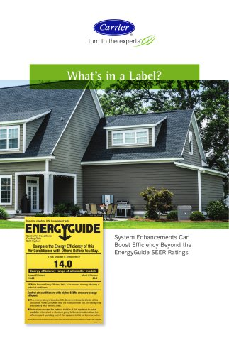 EnergyGuide Label Consumer Flyer