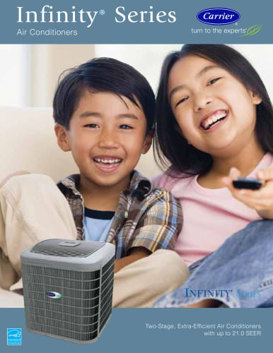 Infinity Series Air Conditioners - Consumer Brochure