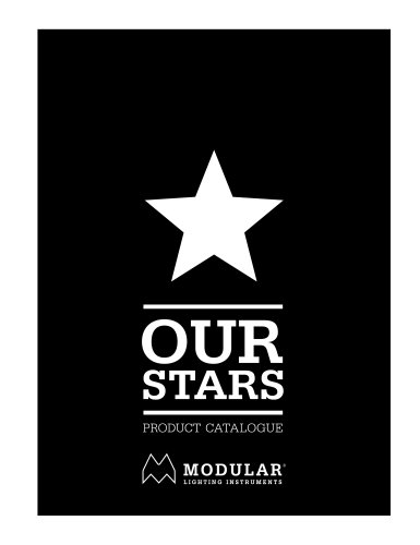 OUR STARS - PRODUCT CATALOGUE