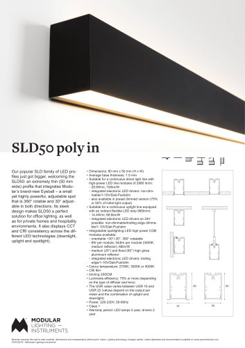 SLD50 poly in