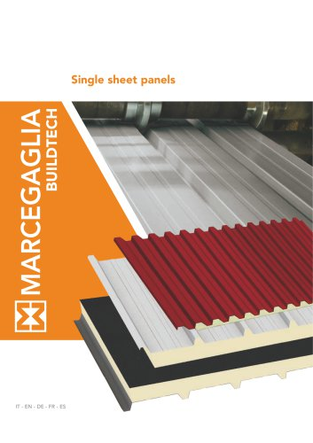 Single sheet panels