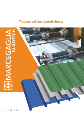 Trapezoidal corrugated sheets