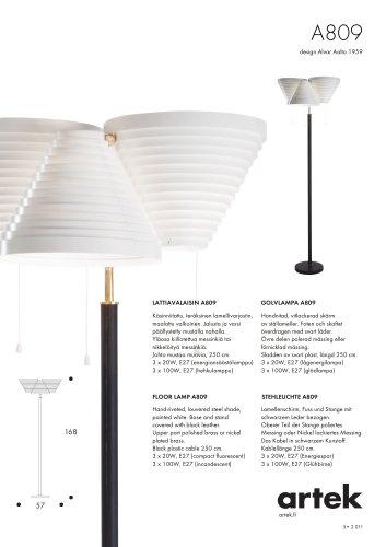 FLOOR LAMP A809