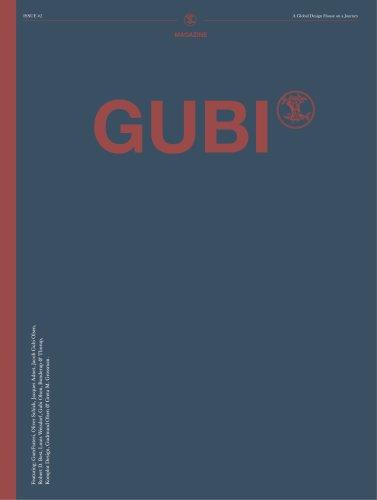 Gubi Magazine - News 2013