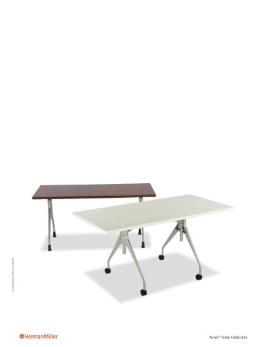 Avive Table Collection Product Sheet