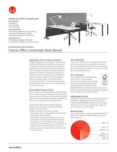 Canvas Office Landscape® Dock-Based