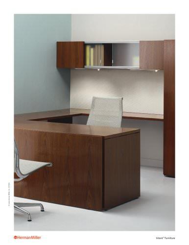 Intent Furniture brochure