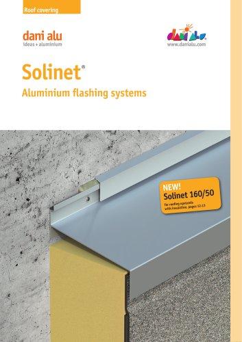 Solinet : Aluminium flashing systems