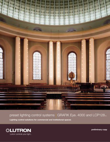 Centralized lighting control LCP128/4000 System