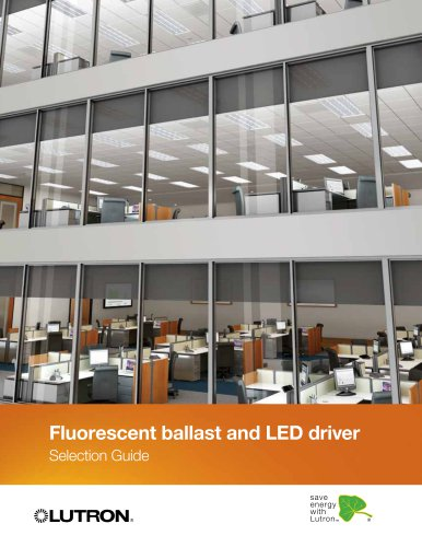Fluorescent ballast and LED driver