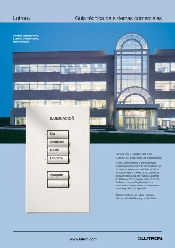 Guía técnica de sistemas comerciales