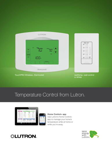 Lutron Thermostat Brochure