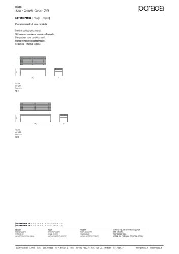 Armchairs&Sofas:LISTONE