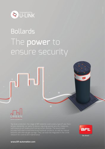 Bollards The power to ensure security