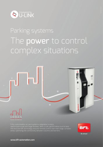 Parking systems The power to control complex situations