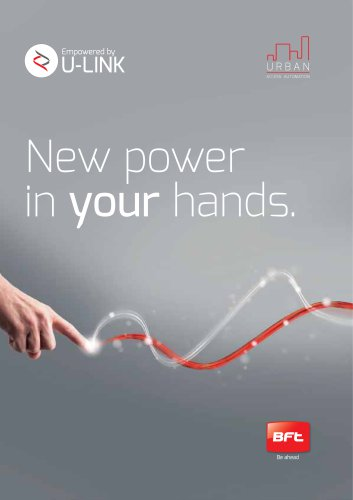 URBAN New power in your hands.