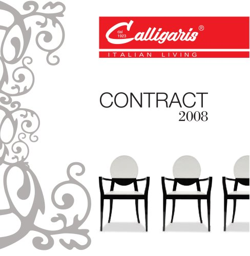 CATALOGUE CONTRACT 2008