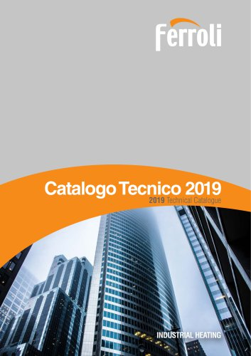 2019 Technical Catalogue