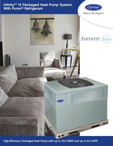 Infinity? 15 Packaged Heat Pump System With Puron® Refrigerant