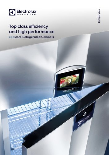 Electrolux Professional ecostore counters