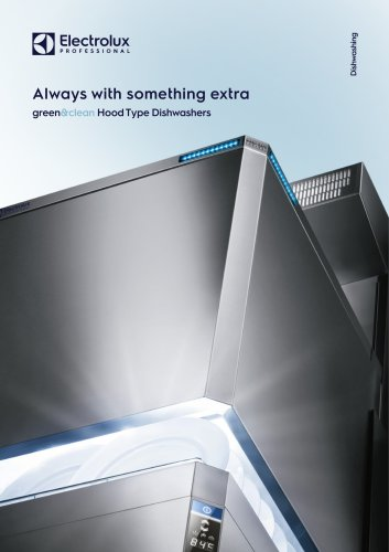 Electrolux Professional green&clean Hood Type