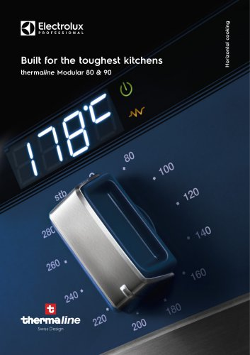 Electrolux Professional thermaline 80-90 modular cooking