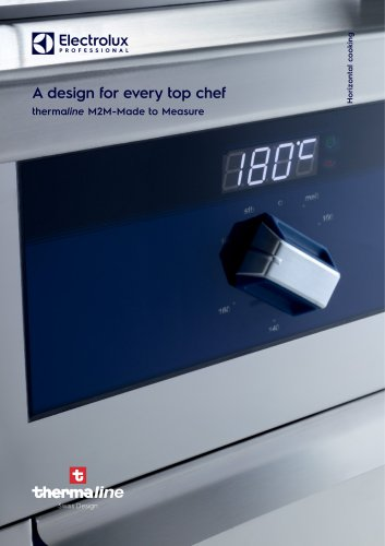 Electrolux Professional thermaline M2M - Made to measure