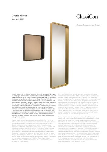 Cypris Mirror 2015