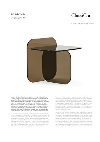 Sol Side Table 2021