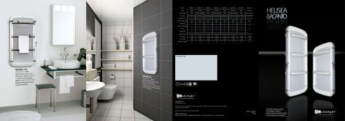 Catalogue 2010 Towel rails ACANTO HELISEA Radialight