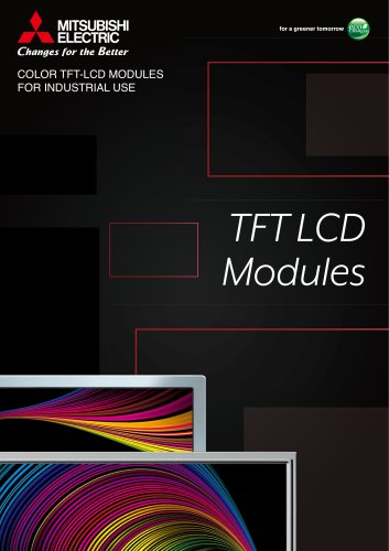 COLOR TFT-LCD MODULES FOR INDUSTRIAL USE