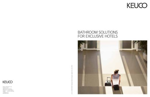 Bathroom solutions  for exclusive hotels