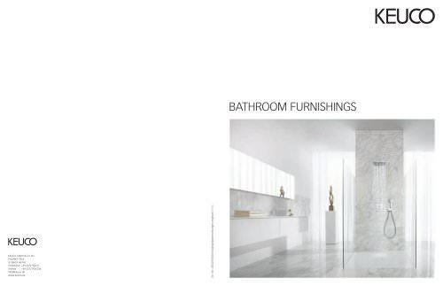 KEUCO BATHROOM FURNISHINGS