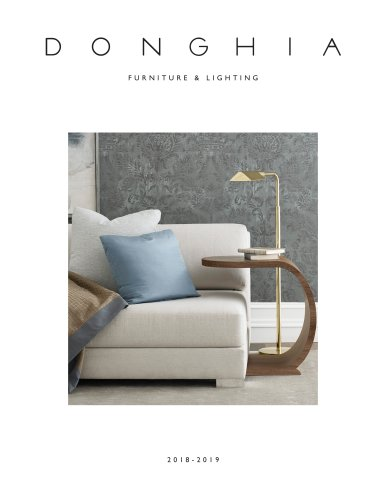 Donghia - 2018 Furniture & Lighting Catalogue